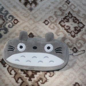Handbags - Totoro Plush Cosmetics Pouch